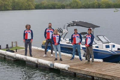 British Squad Practice at ISIS Wakeboarding & Water Skiing Club - Photo Mark Osmond