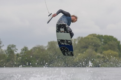 Scott O'Keefe, TeamGB 🇬🇧, at the 2021 Test Practice at Isis Waterski and Wakeboard Club, Reading - Photo Mark Osmond
