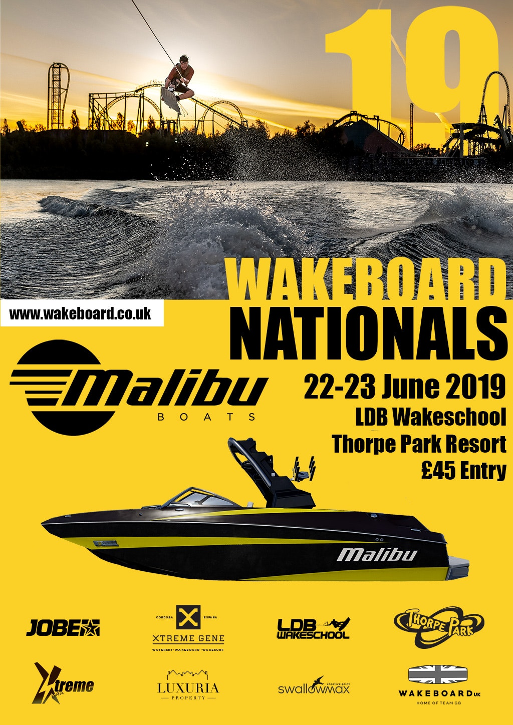 2019 Malibu Boats UK Wakeboard Nationals